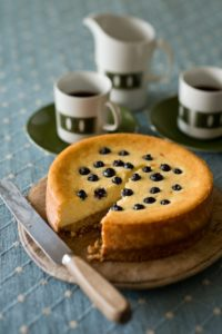 blueberry-cheescake